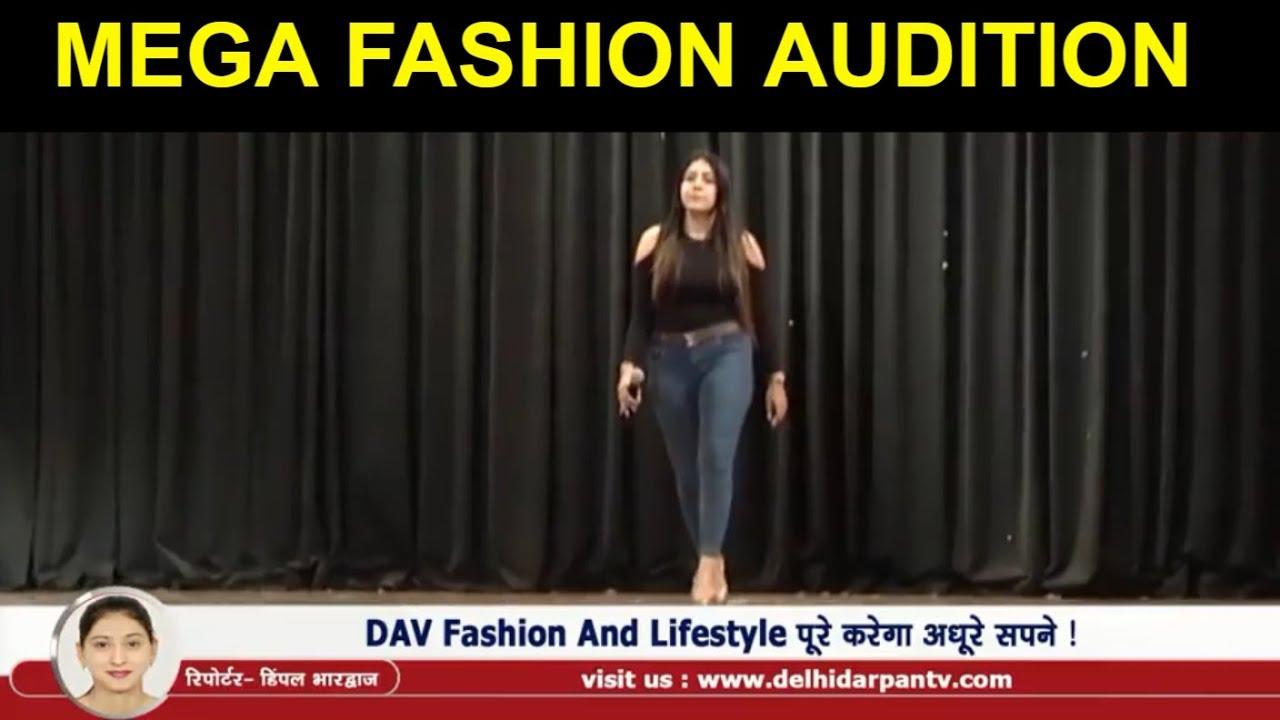 DAV Kulachi Hansraj Model School Organizes Mega Fashion Audition in Delhi